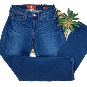 LUCKY BRAND Sofia Straight Ankle Jeans